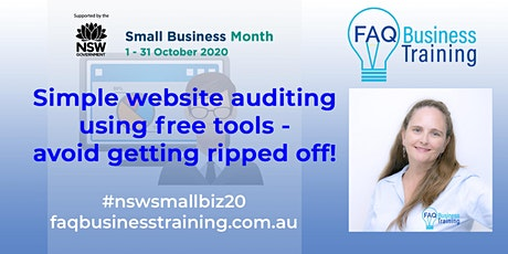 Simple website auditing using free tools - avoid getting ripped off | FAQBT tickets