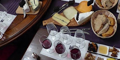 French Cheese and Wine Tasting Evening 26/02/2021 tickets