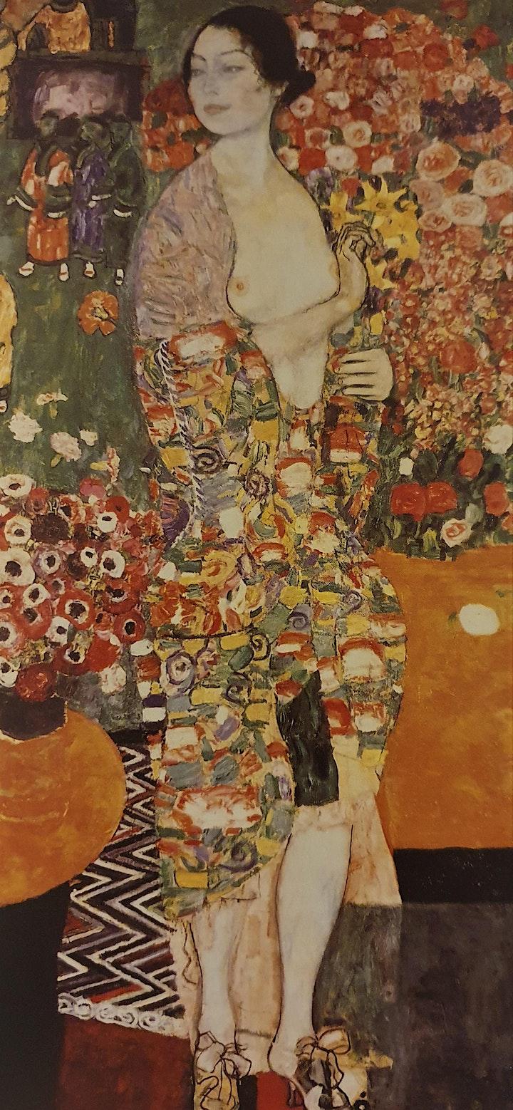Imagen de Klimt Online y Presencial dibujando con modelo viv