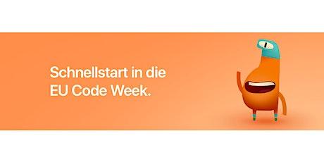 EU Code Week: Programmieren mit Swift Playgrounds - Session 4: Variablen Tickets