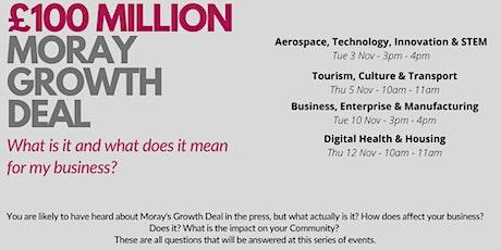 £100m Moray Growth Deal - Aerospace, Technology, Innovation & STEM tickets
