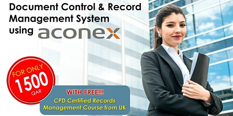 Document Control and Record Management using ACONEX (DEMO CLASS) tickets