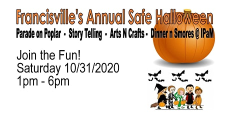 "Francisville Safe Halloween ""Treats no Tricks"" Parade and Party tickets"