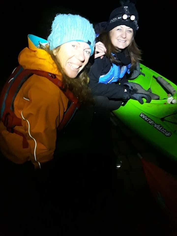 Night Kayak (Monmouthshire & Brecon Canal) image