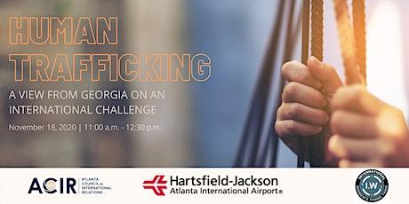Webinar: Human Trafficking tickets