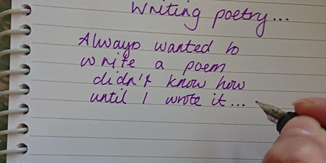 Writing Poetry tickets