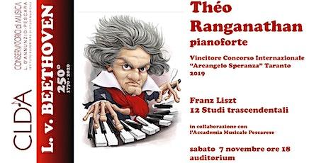 Théo Ranganathan, pianoforte biglietti