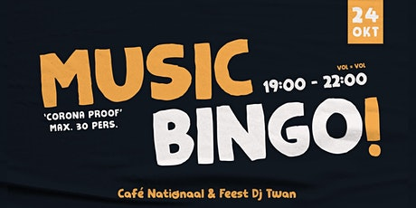 Music Bingo! - Café Nationaal