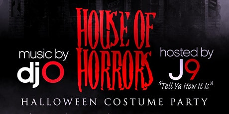 House Of Horrors: Halloween Costume Party tickets