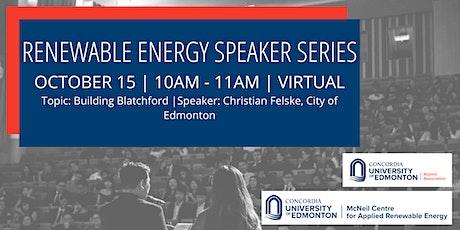 Renewable Energy Speaker Series tickets