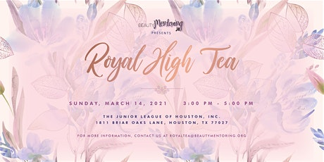 BEAUTY Mentoring's Royal High Tea tickets