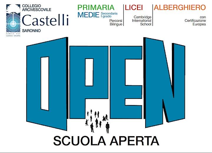 Immagine Open Day Scuola Primaria Collegio Castelli
