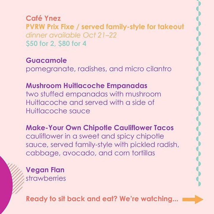 Dinner and a Movie w/Philly Vegan Restaurant Week image