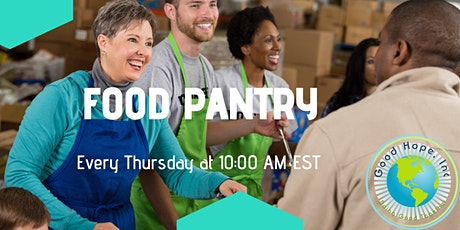Good Hope Inc. Food Pantry Registration tickets