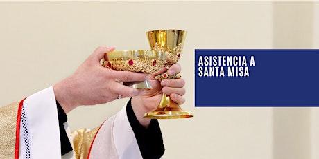 Santa Misa Oratorio Nuestra Señora de la Paz boletos