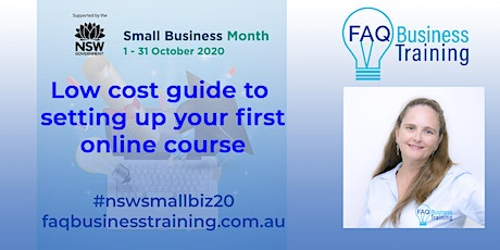 Low cost guide to setting up your first online course | FAQBT tickets