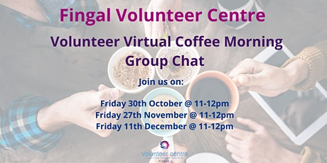 Volunteer Virtual Coffee Morning tickets