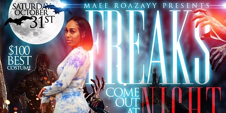 Freaks Come Out at Night . Costume Party tickets