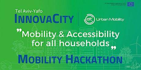 InnovaCity Tel Aviv Yafo | Mobility Hackathon Online tickets