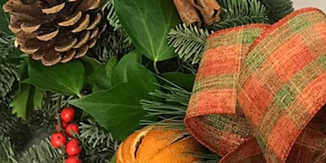 Laurie's Christmas  Wreath Making Class tickets