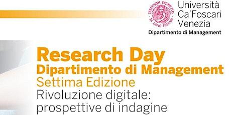 Research Day biglietti