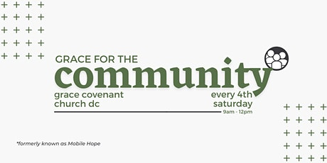 Grace For The Community tickets