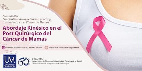 ABORDAJE KINESICO EN EL POST QUIRURGICO DE CANCER DE MAMAS