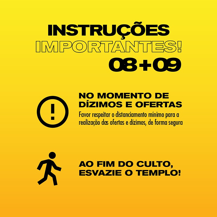 Imagem do evento Culto - Domingo - 19H