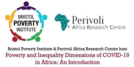 Poverty and Inequality Dimensions of COVID-19 in Africa: An Introduction tickets