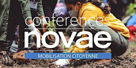 Mobilisation citoyenne - Conférence Novae billets
