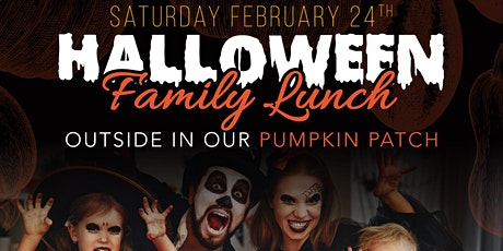 Halloween Family Lunch tickets