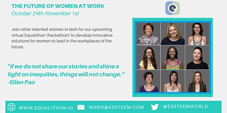 The Future of Women at Work  Virtual Hackathon tickets