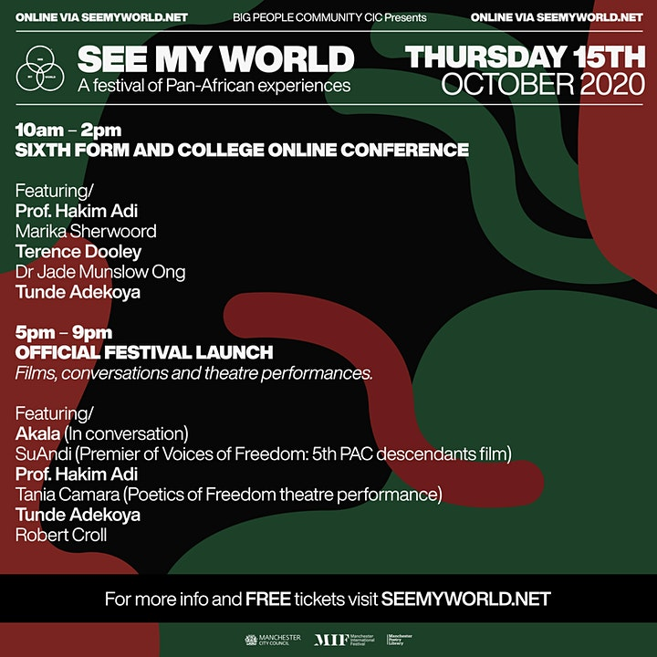 BPC CIC Presents SEE MY WORLD Festival Launch: AKALA - In Conversation image