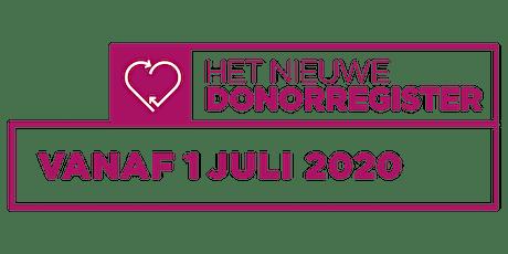Informatieavond over donorregistratie; wat kan ik verwachten? tickets