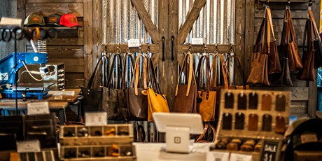 Ox & Pine Leather Goods Warehouse Sale tickets