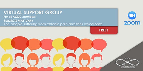 AQDC: Virtual support group tickets
