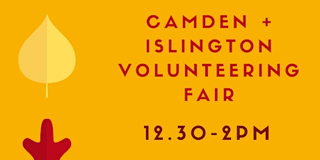 Camden and Islington November 2020 Volunteering Fair tickets