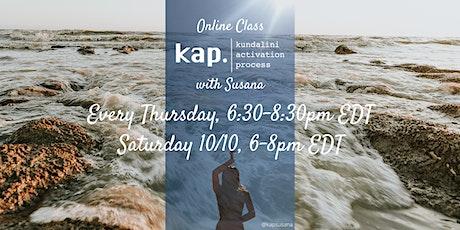 Online Class-KAP Kundalini Activation Process-with Susana tickets