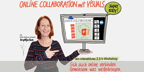 Online Collaboration mit Visuals Tickets