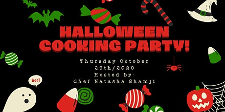 Half Term Halloween Cooking Class (In Person) Ages 9-12 tickets