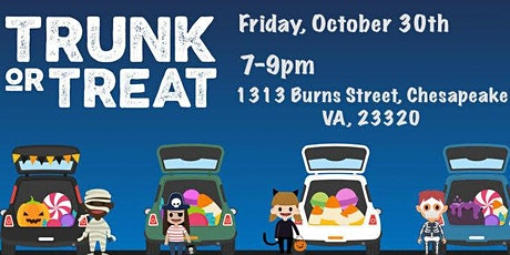 Trunk or Treat  - Free (Rain or Shine) tickets