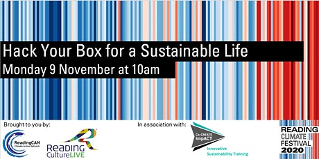 Hack Your Box for a Sustainable Life tickets