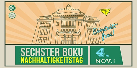 6. BOKU Nachhaltigkeitstag - Pecha Kucha II tickets