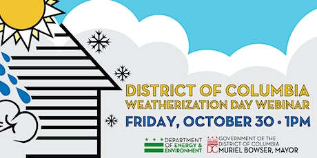 District of Columbia Weatherization Day tickets