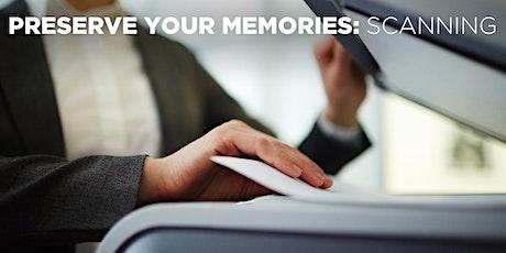 Preserve Your Memories: Scanning w/Mat Marrash (Online) tickets