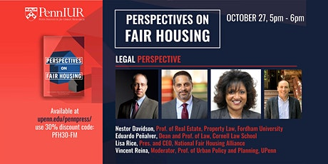 Perspectives on Fair Housing: Law tickets