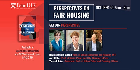 Perspectives on Fair Housing: Gender tickets