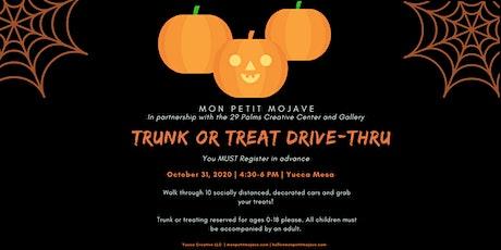 Trunk or Treat Drive-Thru tickets