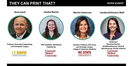 Women in 3D Printing- They can print THAT?! Biomedical 3D Research Panel tickets