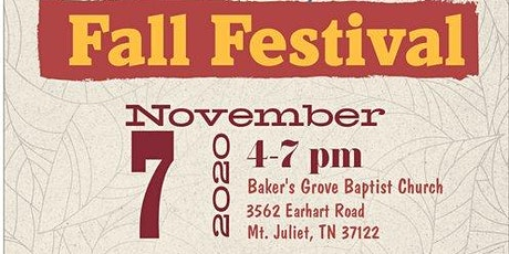 Community Fall Festive tickets